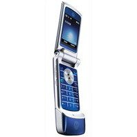 Motorola KRZR K1 Unlocked Cell Phone with 2 MP Camera, Media Player, MicroSD Slot--U.S. Version with Warranty (Cosmic Blue)