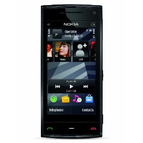 Nokia X6 Touch Unlocked GSM Phone with 5 MP Camera and 16 GB Memory (Black Cap)