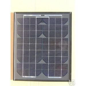 10 Watt Black Frame Mono-crystalline Solar Panel and Battery Charger