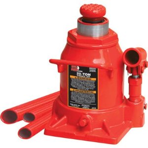 Torin Stubby Hydraulic Bottle Jack - 20-Ton, Model# T92007A
