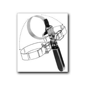Lisle 53250 Large Swivel Grip Oil Filter Wrench