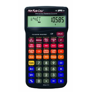 Mr. Gasket Hot Rod Calc Street and Strip Performance Calculator