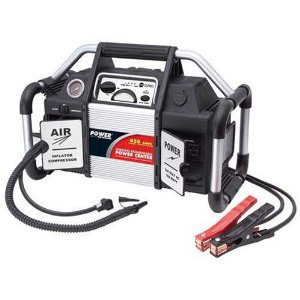 Power on Board Power Center and Jump Starter