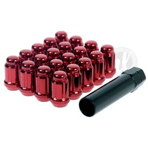 Muteki Red Spline Drive Lug Nuts 12x1.25