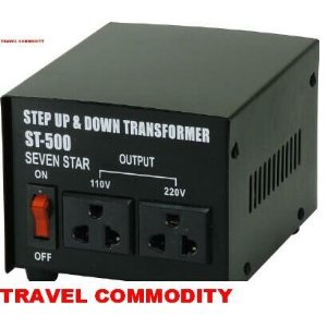 SEVENSTAR 500WATTS UP & DOWN TRANSFORMER