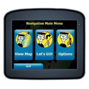 GPS For Dummies FD-220 3.5-Inch Portable GPS Navigator