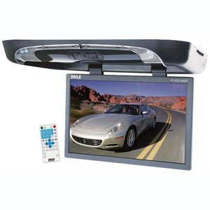 PYLE PLRD195IF 19'' Flip Down w/ Built In DVD/SD/USB Player w/ Wireless FM/ Modulator & IR Transmitter