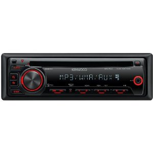 Kenwood KDC-MP145 In-Dash CD/MP3/WMA Receiver with Aux Input