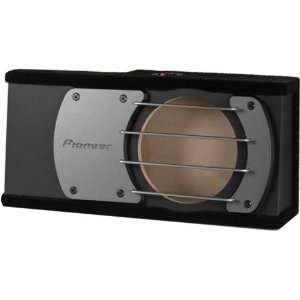 Pioneer UDSW10U 10-Inch Shallow Sealed Enclosure for PIOTSSW2541D Under Seat Use