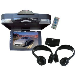 Pyle Super DVD/Headphones Package for Car/Truck/SUV -- PLRD143IF 14.1