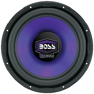 BOSS N12DVC 12-Inch Butyl Rubber Surround Poly Injection Cone Dual Voice Coil Subwoofer