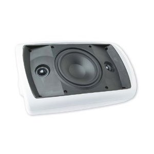 Niles OS6.3SI White (Ea) 6 Inch Stereo Input 2-Way Indoor Outdoor Speaker (FG01000)