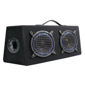 Pyle - PLKB65; 6.5'' 800 Watts 4 Way Hatchback Speaker Enclosure System