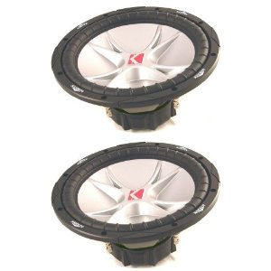 PAIR OF BRAND NEW KICKER 07CVR12-4 COMP VR SERIES 12