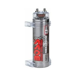 BOSS CAP2S - Car audio capacitor - silver