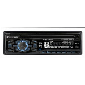 Planet Audio P235MA AM/FM/CD/MP3 Receiver Full Detachable Face Plate, Front and Rear Aux Inputs