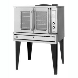 Natural Gas SunFire SDG-1 Convection Oven Single Deck Deep Depth