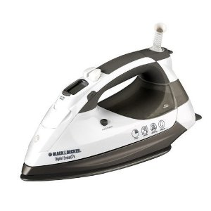Black & Decker D5500 Digital Evolution 1500-Watt Steam Iron with Ceramic Soleplate