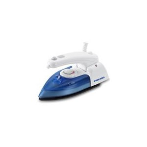 Black & Decker X50 Travel Pro Iron, White