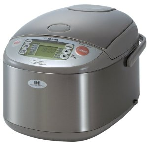 Zojirushi NP-HBC18 10-Cup Rice Cooker and Warmer with Induction Heating System, Stainless Steel