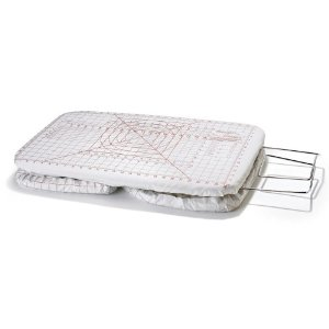 Polder IB-1728-103 Sewer's Reversible Tabletop Ironing Board, Red