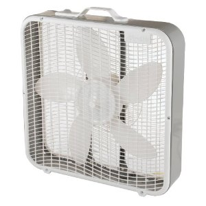Aerospeed 20-Inch 3-Speed Premium Box Fan with Energy Efficient Design and Carrying Handle
