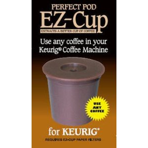 EZ-Cup By Perfect Pod for Keurig Coffee Machines