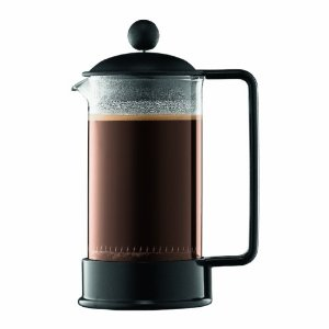 Bodum Brazil Shatterproof SAN 3 Cup Coffee Press, 12-Ounce