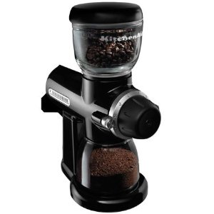 KitchenAid Pro Line Burr Coffee Grinder - Onyx Black