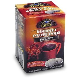 Black Mountain Gold Gourmet Coffee Pods - Moka Java - 14 Ct.