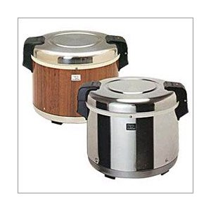 Zojirushi THA-803 8-Liter Electric Rice Warmer, Wood Grain