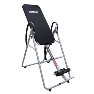 Black Exercise Fitness Therapy Inversion Table