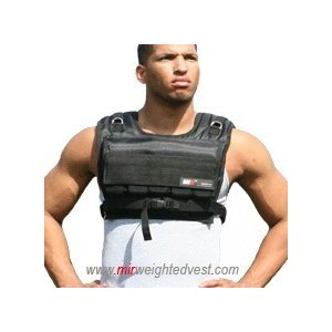 MiR 75Lbs Short Adjustable Weighted Vest