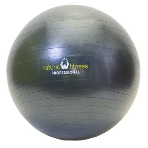 Natural Fitness 75cm Professional Burst-Resistant Exercise Ball (Ocean)