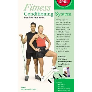 SPRI FCS-LBR Fitness Conditioning System Xering and Ultra Toner (Light Resistance)