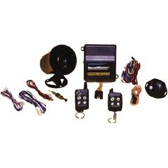 CRIME STOPPER CS-2004TW1 Securcar Vehicle Security Alarm with 2-WAY Fm Paging and Led Remote Transceiver