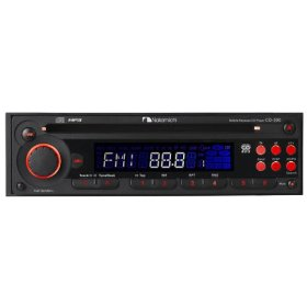 Nakamichi CD-300 - Radio / CD / MP3 player - Full-DIN - in-dash - 50 Watts x 4