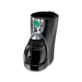 Mr. Coffee 12c Coffee Maker- Black/Metal