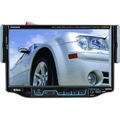 Boss BV8965B 7-Inch Single Din In-Dash Widescreen Touchscreen TFT Monitor/DVD/MP3/CD Receiver