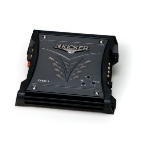 Kicker 08ZX4001 400-Watt Class D Mono Subwoofer Amplifier