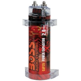 Boss CAP2R 2 Farad Capacitor (Red)