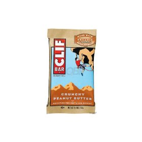 Clif Bar Crunchy Peanut Butter (Box of 12)