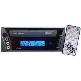 Legacy LDVD50 In-Dash Mobile DVD/CD Player w/MP3 Playback