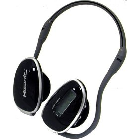 Hisonic MH601-2G 2GB Wireless Headset-Style MP3 Player