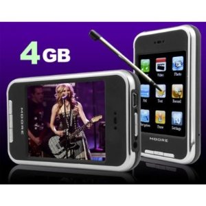 Pro Ebiz 4 GB Video MP3/MP4 Player with 2.8-inch TFT Touchscreen