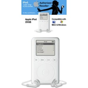 Apple iPod 20 GB White M8738LL/A (2nd Generation) OLD MODEL