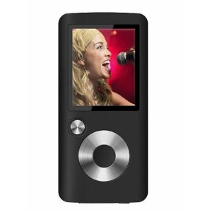 Coby 4GB Flash MP3 Player with FM and Color Display (Black)