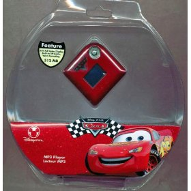 Disney Pixar Cars MP3 Player with Lightning McQueen