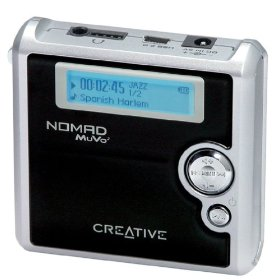 Creative Labs NOMAD MuVo� 4 GB MP3 Player