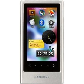 Samsung P3 Palm Theatre Plus 16 GB  MP3 Player (Silver)